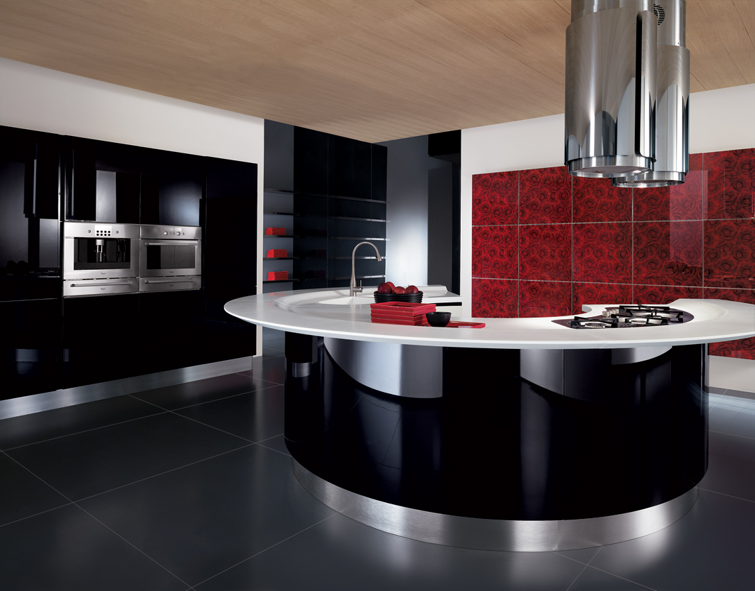 Cucine Moderne Curve.Maxima Linear Circular Or Corner Kitchen Composit Kitchen