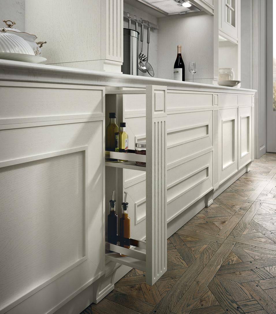 Melograno Classic - Cucina componibile ad angolo