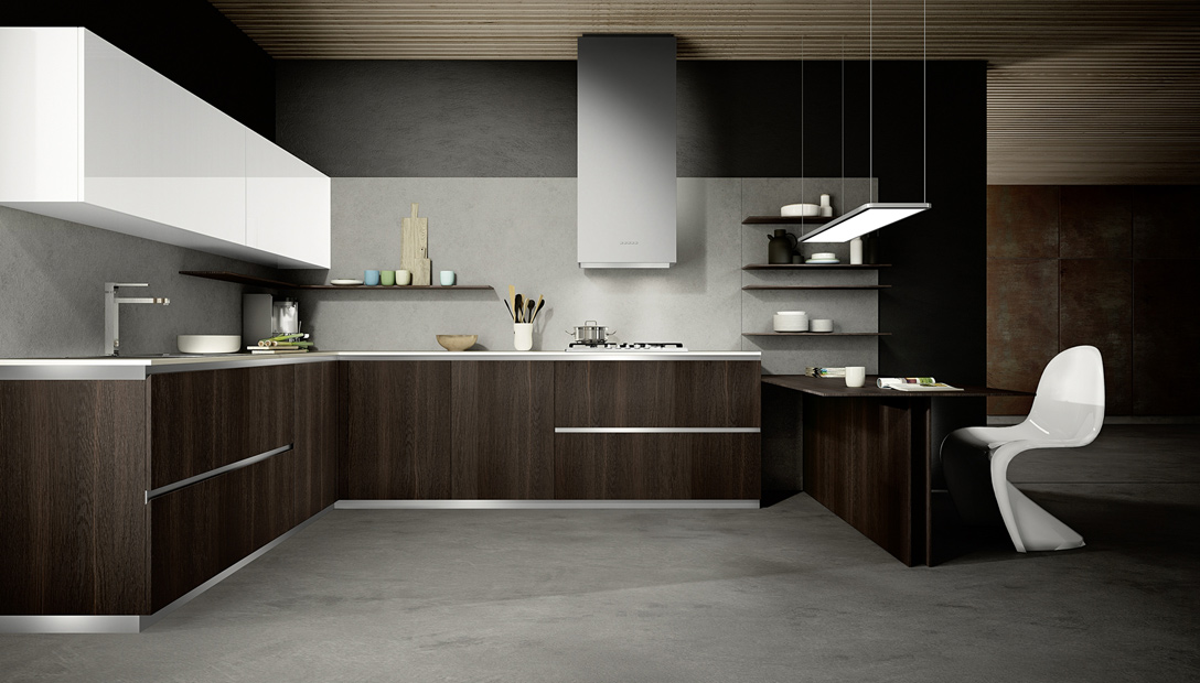 Mood - Modern youthful and expressive kitchen - COMPOSIT KITCHEN