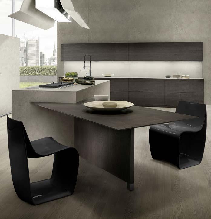 Touch - Cucina moderna innovativa ed essenziale - CUCINE COMPOSIT