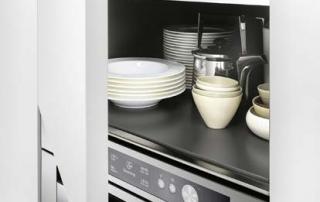 Cucina moderna_Touch.03_dettaglio maniglia a filo anta con presa push nella finitura dell'anta
