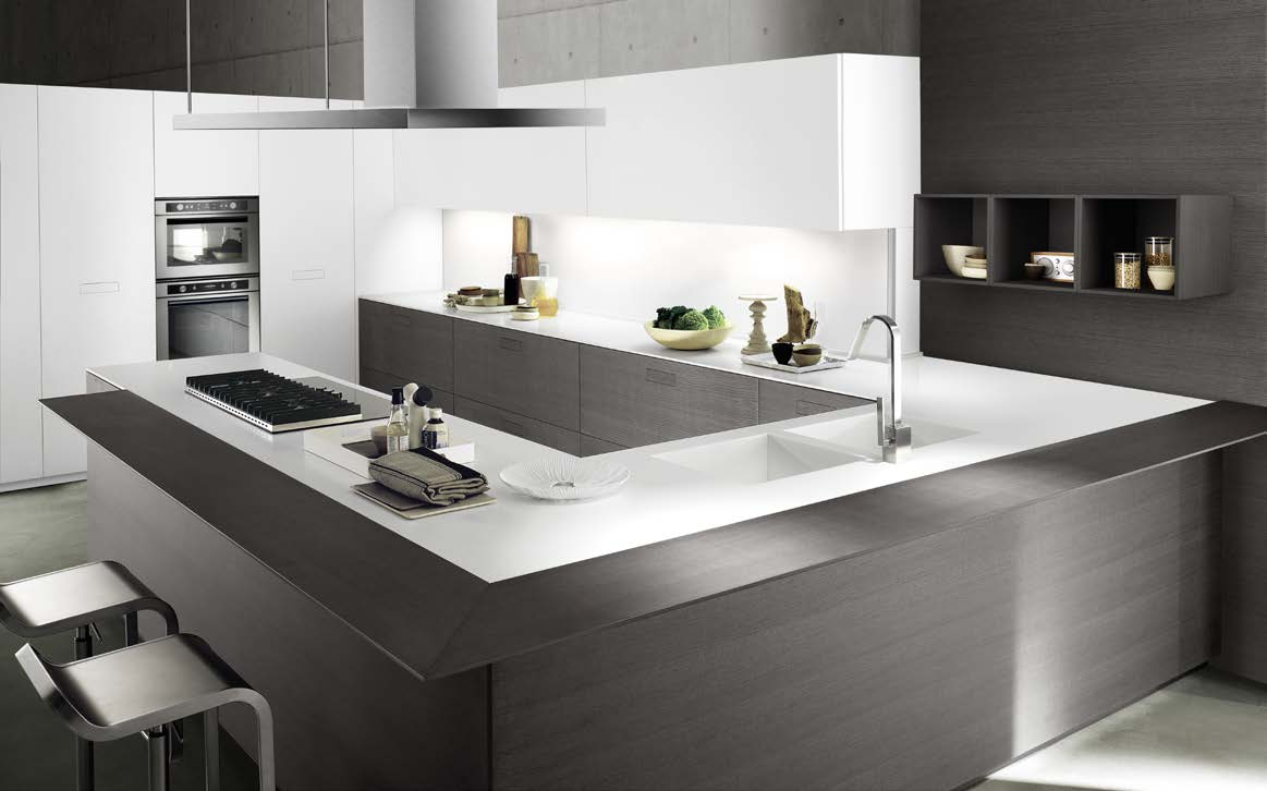 Touch - Cucine componibili moderne ad angolo