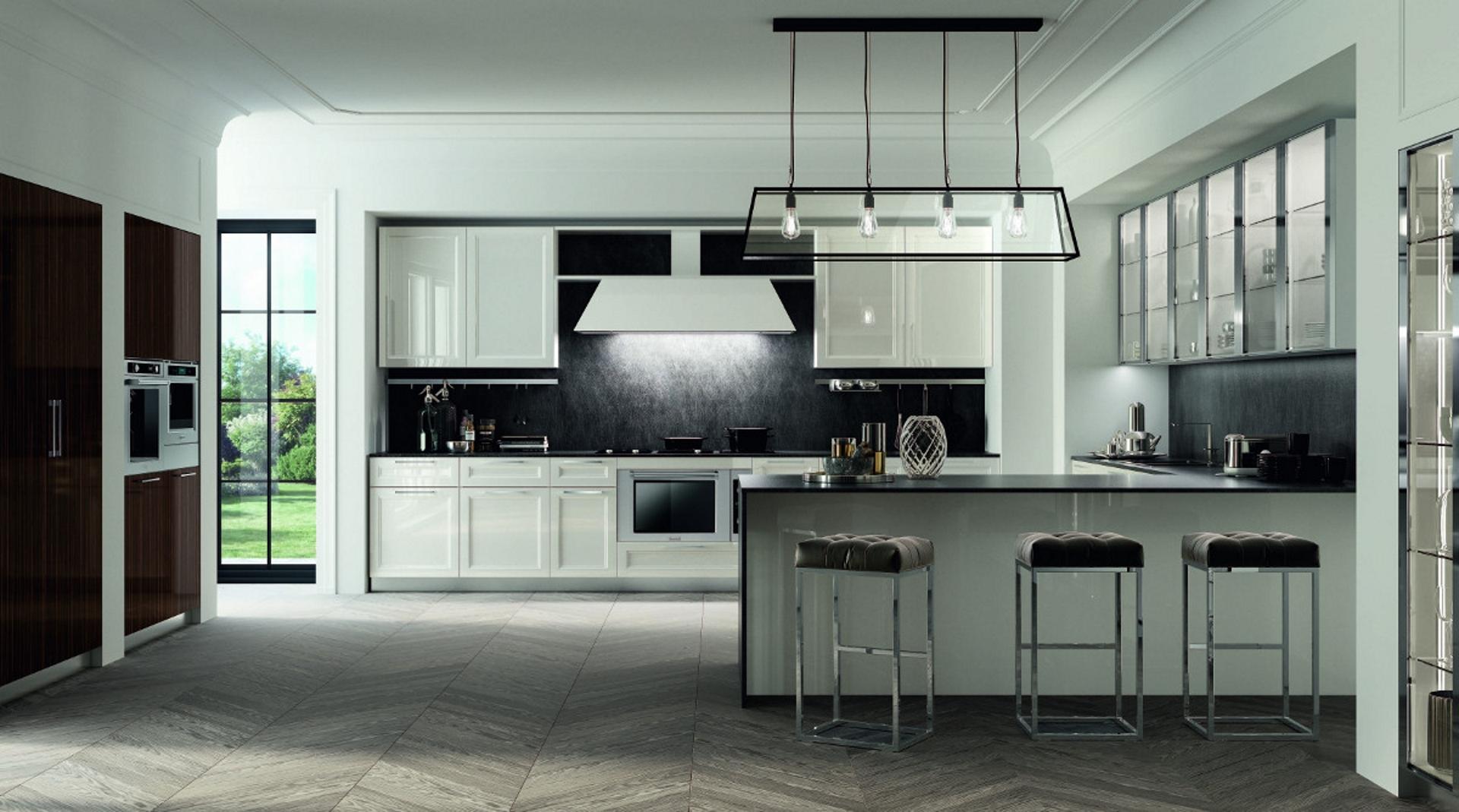 Marilyn cucina dal design cosmopolita cucine composit - Cucine lussuose moderne ...