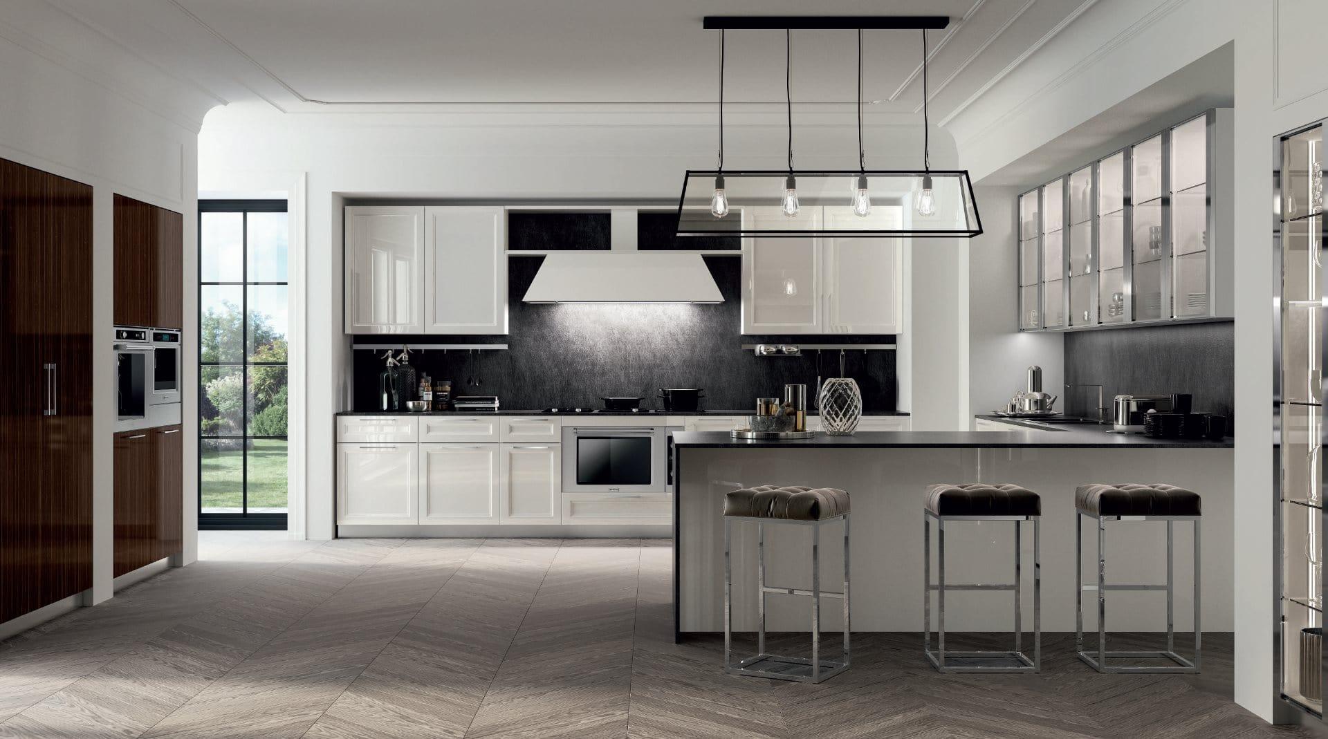 Marylin una cucina moderna, chic, cosmopolita e di design