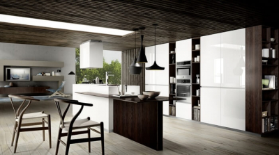 cucina moderna con isola mood by composit