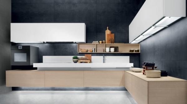 cucina moderna sospesa by composit