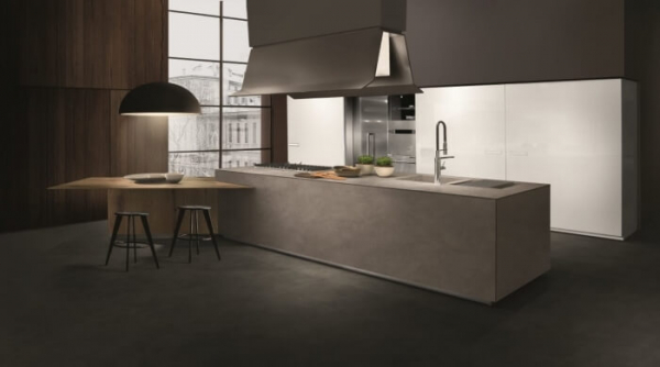 cucina lineare touch by composit