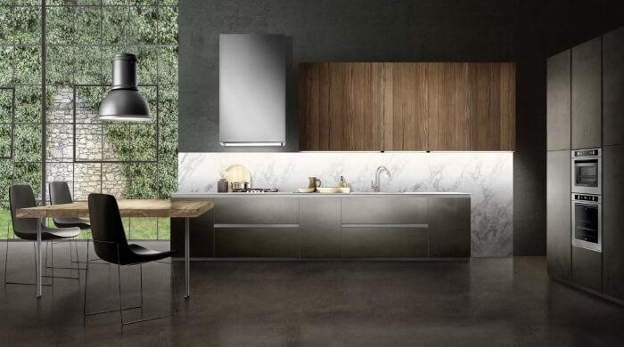 cucina moderna senza maniglie by composit