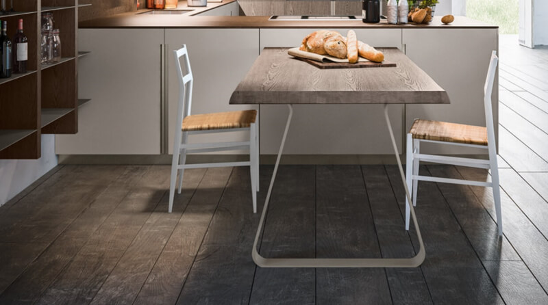 tavoli e sedie per arredo di cucine moderne e di design
