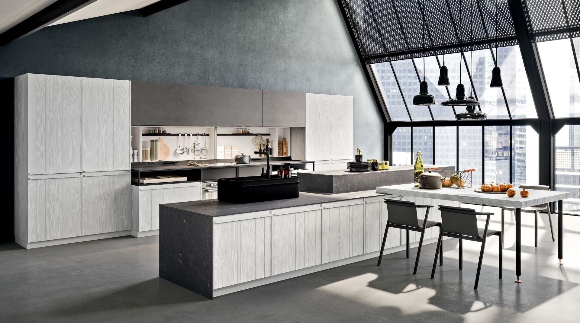Cucine composit cucine moderne di design arredamento for Cucine di design outlet