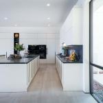 Cucina Moderna_Lounge_dettaglio isola visione laterale