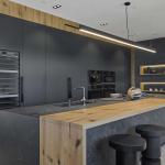 Cucina Moderna_Linea_dettaglio isola